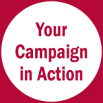 your campaign in action icon