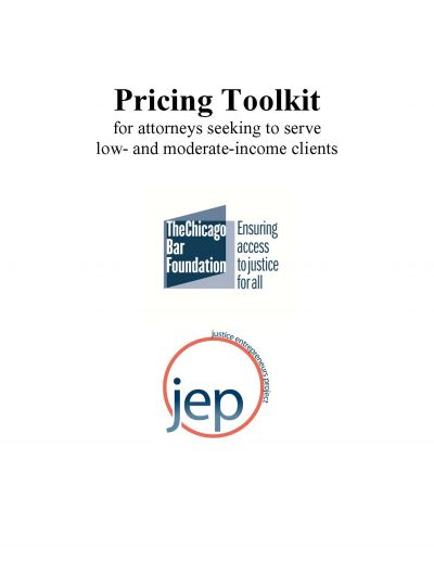 Pricing for Access to Justice