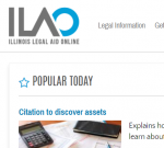 ilao frontpage screenshot